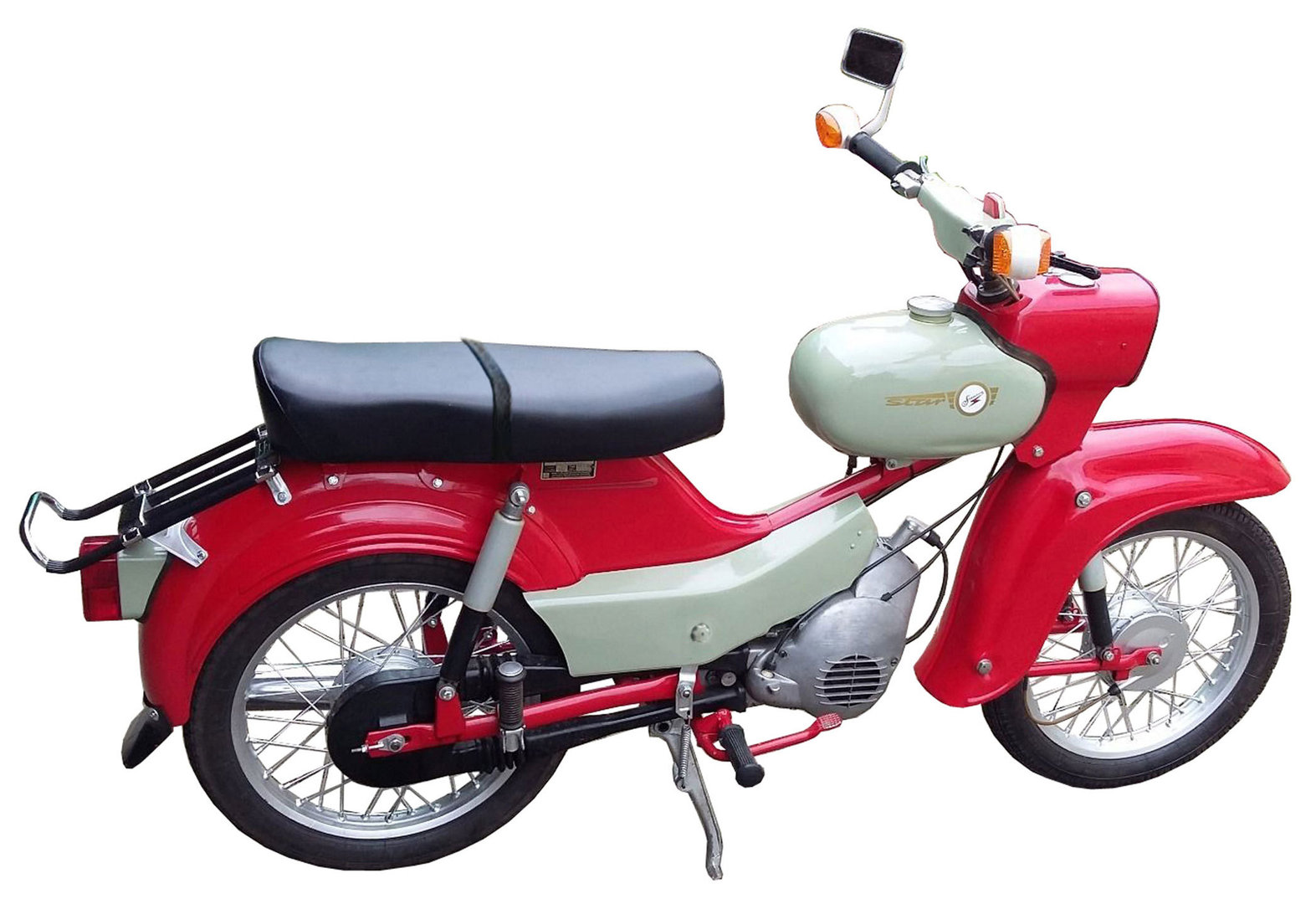 sitzbank simson star sr4 2 ohne zubeh r ddr moped. Black Bedroom Furniture Sets. Home Design Ideas