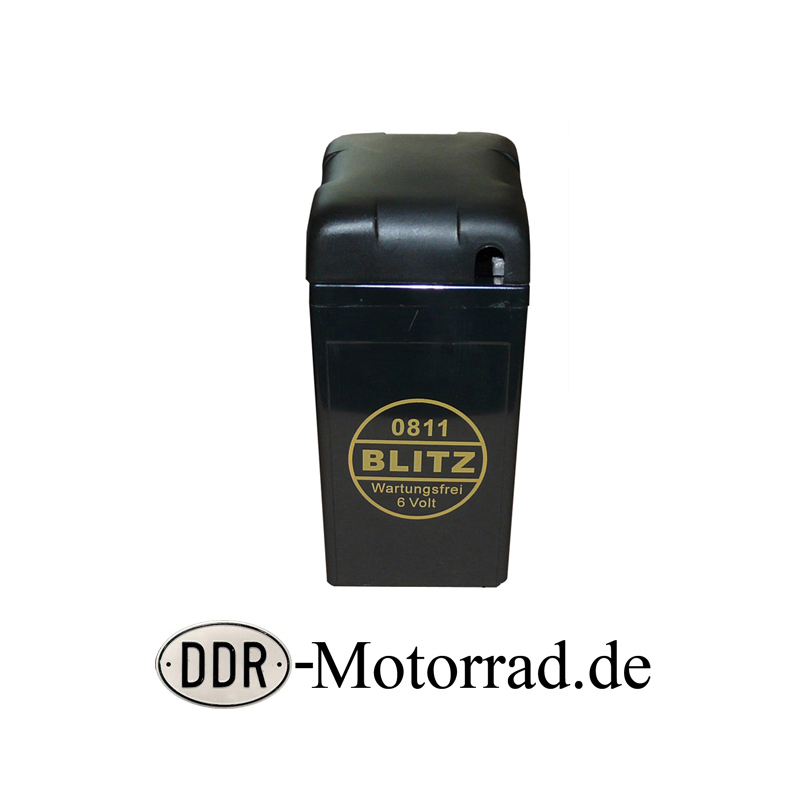 batterie gel 6v 12ah iwl berlin ddr motorroller ersatzteile. Black Bedroom Furniture Sets. Home Design Ideas