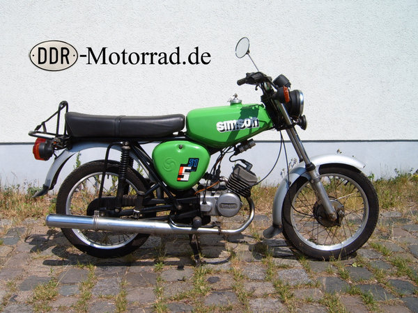 DDR Moped Simson S51\\n\\n14.02.2017 12:20