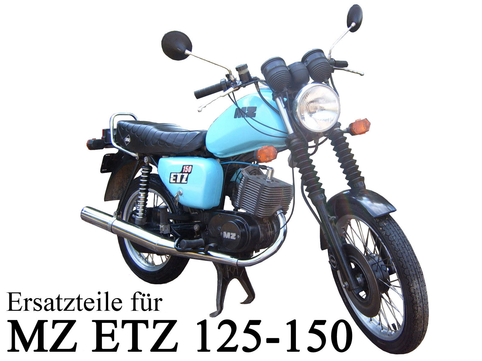 mz etz 125 motor motorrad fahrzeuge en deutsche t. Black Bedroom Furniture Sets. Home Design Ideas